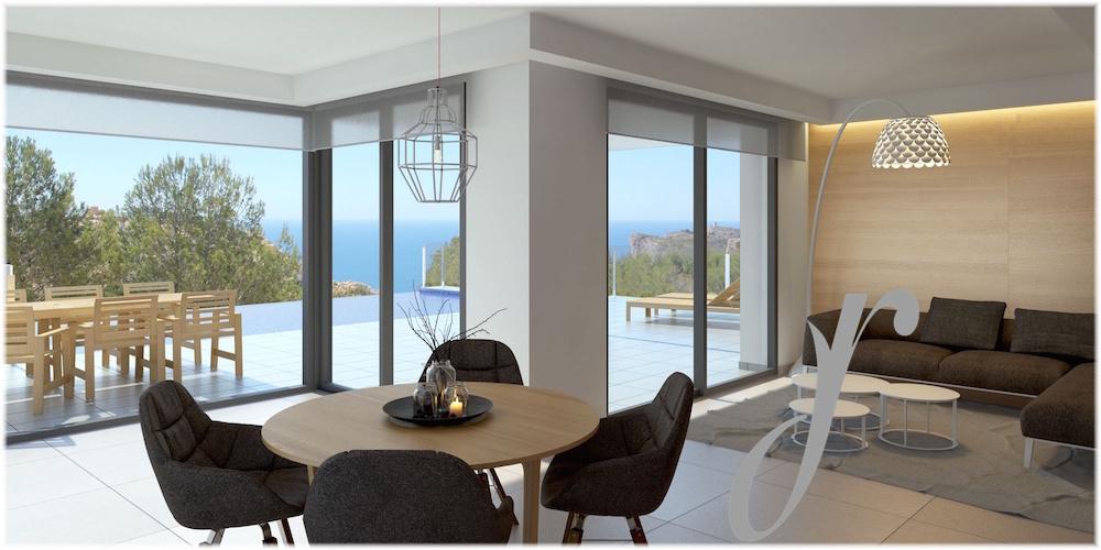 Luxury Villa with Green & Sea Views