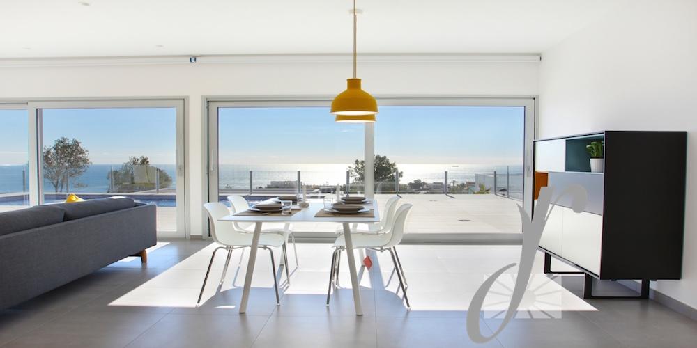 Deluxe Designer Villa with sea views